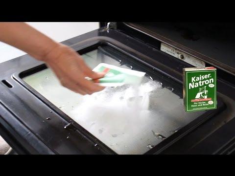 Backofen glänzt wie neu ! reinigen mit Kaiser Natron - Oven Shines Like New! with emperor soda