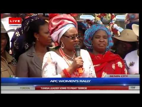 Oshiomhole Hosts Aisha Buhari For Benin APC Women Rally Part 4