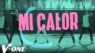 Siente Mi Calor (Letra) - V-One  (Video)