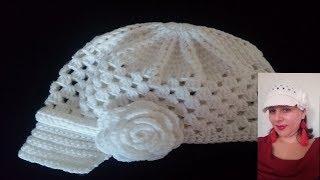 Descargar MP3 de Gorra Con Visera Tejido A Crochet gratis. BuenTema.Org b6c8aaaf9b7