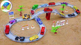City of miniature toy cars - Kid Studio