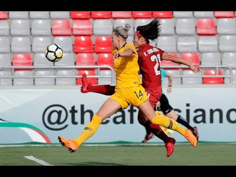 Australia 2-2 Thailand (AFC Women's Asian Cup 2018: Semi-finals)