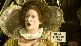 Horrible Histories Terrible Tudors money currency, Elizabeth I's clothing laws