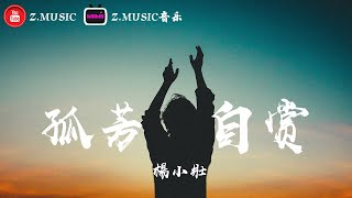 楊小壯 - 孤芳自賞 ♬『我承認我自卑 我真的很怕黑』《高音質 / 動態歌詞Lyrics》MV