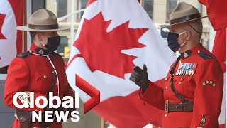 """RCMP orders Mounties not to wear """"Thin Blue Line"""" symbol"""