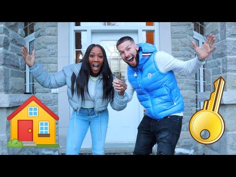 GETTING THE KEYS TO OUR NEW HOUSE!!!