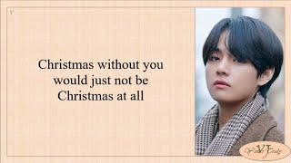 V (BTS 방탄소년단) - Snow Flower (Ft. Peakboy) Easy Lyrics
