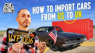 How to import a classic car yourself from the USA to UK // Jonny Smith CarPervert