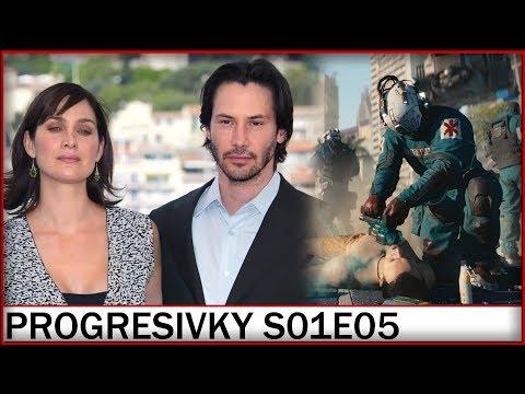 Ohlášení Matrixu 4 a další záběry ze Cyberpunku 2077! - Progresivní zprávy | S01E05 | 28.8.2019