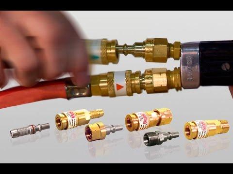 IBEDA Acoplamientos para mangueras de gas EN 561