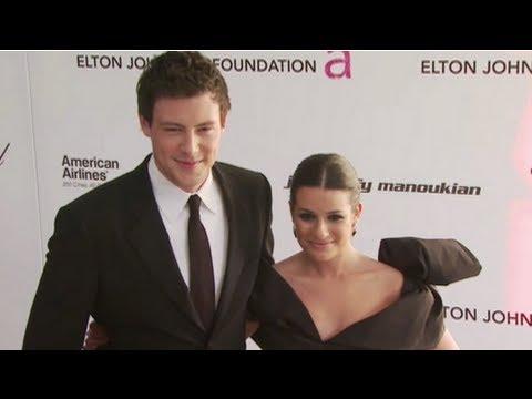 Cory Monteith Talks Loving Lea Michele . . . on Glee