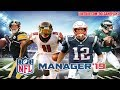 Nfl 2019: Football League Manager by From The Bench And