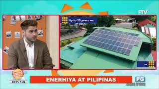 Solar Power in the Philippines - Solar Joe PH on PTV Bagong Pilipinas