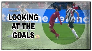 Analysing the goals | Liverpool 4-0 Newcastle United