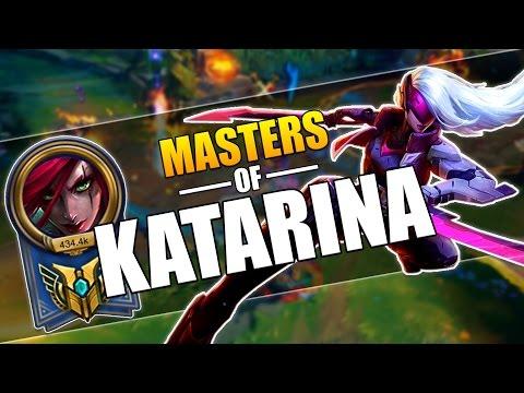 MASTERS OF KATARINA   INSANE PENTAKILLS MONTAGE   League of Legends