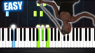 Ariana Grande - No Tears Left To Cry - EASY Piano Tutorial by PlutaX