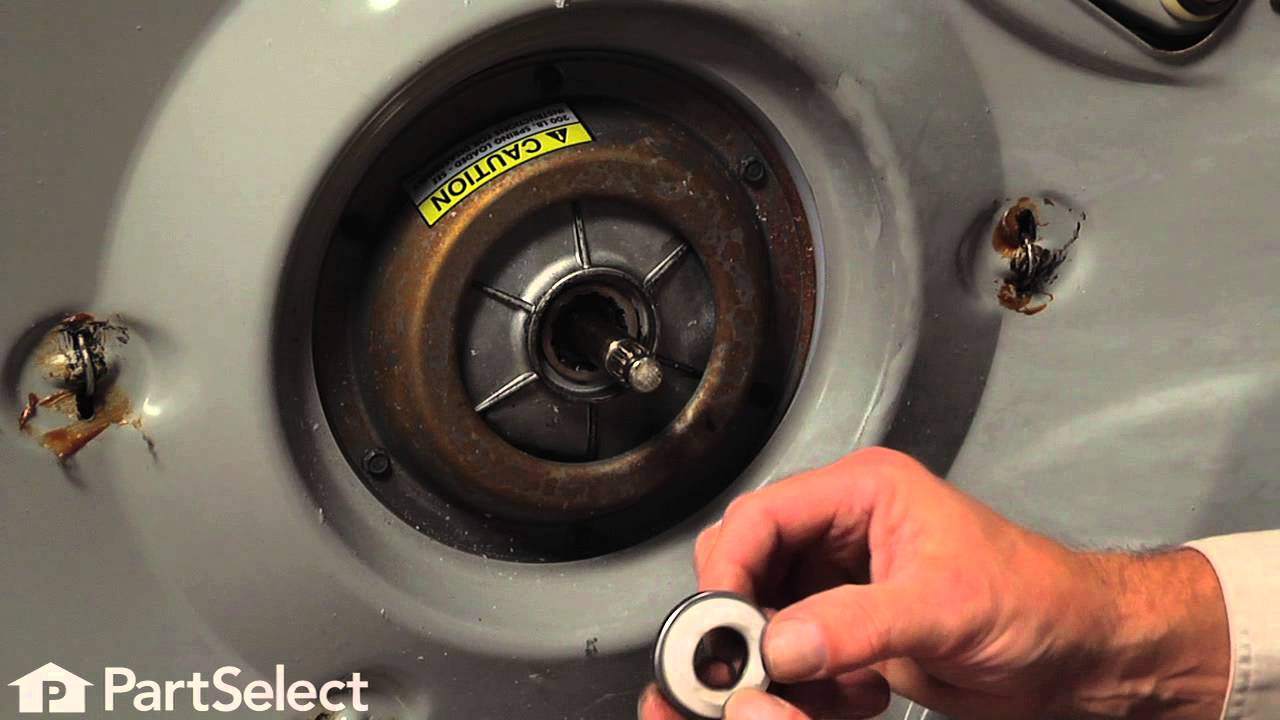Replacing your Maytag Washer Transmission Pulley and Bearing Kit