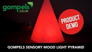 Product Demo - Sensory Mood Light Pyramid