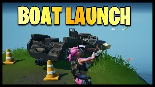Fortnite Chapter 2: The Boat Launch Location