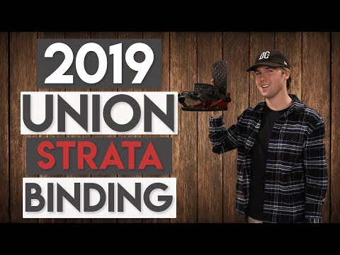 2019 Union Strata Snowboard Bindings Review