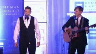 Ty Herndon at the 2015 HRC Houston Gala