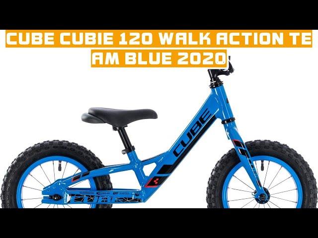 Видео Велосипед Cube Cubie 120 green´n´blue