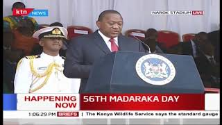 Uhuru: Government implementing drought mitigation plan #MadarakaDay2019