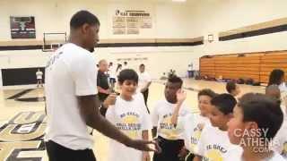 Paul George Skills Camp 2014 (Los Angeles)