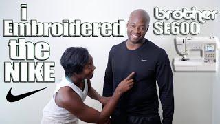 تحميل اغاني Brother SE600 Nike Check Embroidery Design MP3
