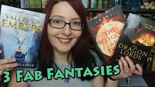 3 Fab Fantasies | Godblind | Valley of Embers | The Dragon Lords: Fool's Gold