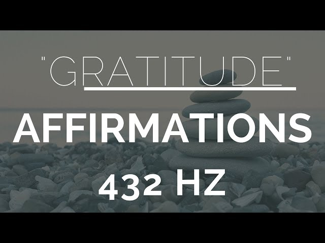 Morning Gratitude Affirmations- Listen For 21 Days!