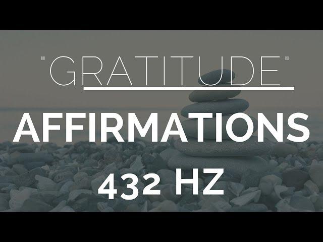 Morning Gratitude Affirmations- Listen For 21 Days!