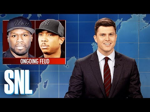 Weekend Update: 50 Cent and Ja Rule's Ongoing Feud - SNL