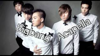 Don't Go Home(집에 가지마)(Acapella) by GD & TOP