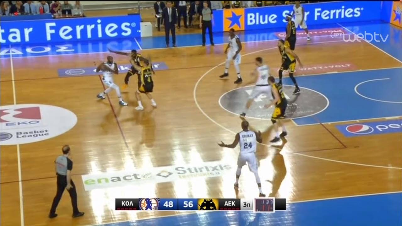 Basket League 2019-2020: ΚΟΛΟΣΣΟΣ – ΑΕΚ   HIGHLIGHTS   11/01/2020   ΕΡΤ