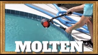 Pouring molten aluminum into a pool!! - Video Youtube