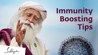 Simple Immunity Boosting Tips by Sadhguru | Sadhguru