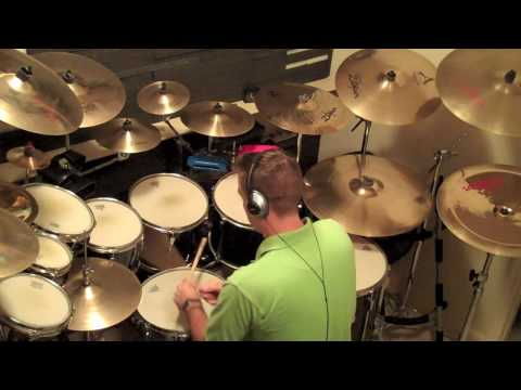 Anthony Eaton Plays Drums! The Police - Man In A Suitcase