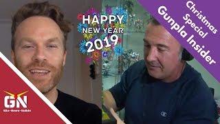 Gunpla Insider Holidays Special Hosted By Joshua Darrah: Scott Tiller (GN Host)
