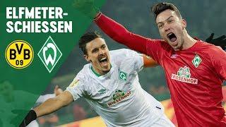 DFB Pokal: Pavlenka & Kruse Entscheiden Elfmeterschießen | Borussia Dortmund - Werder Bremen 5:7
