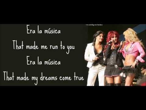 Era La Música (letra) RBD