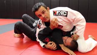 Jiu Jitsu Techniques - Clock Choke From Side Control
