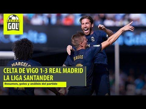 Celta de Vigo vs. Real Madrid (1-3): goles, resumen y análisis por LaLiga