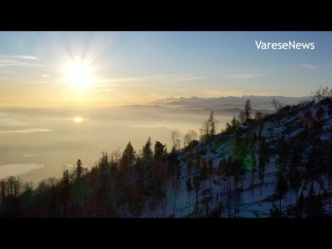 La straordinaria bellezza del Campo dei Fiori per augurarvi Buon 2021