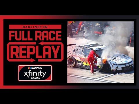 NASCAR サザン500 (ダーリントン・レースウェイ)Xfinityクラスのフルレース動画