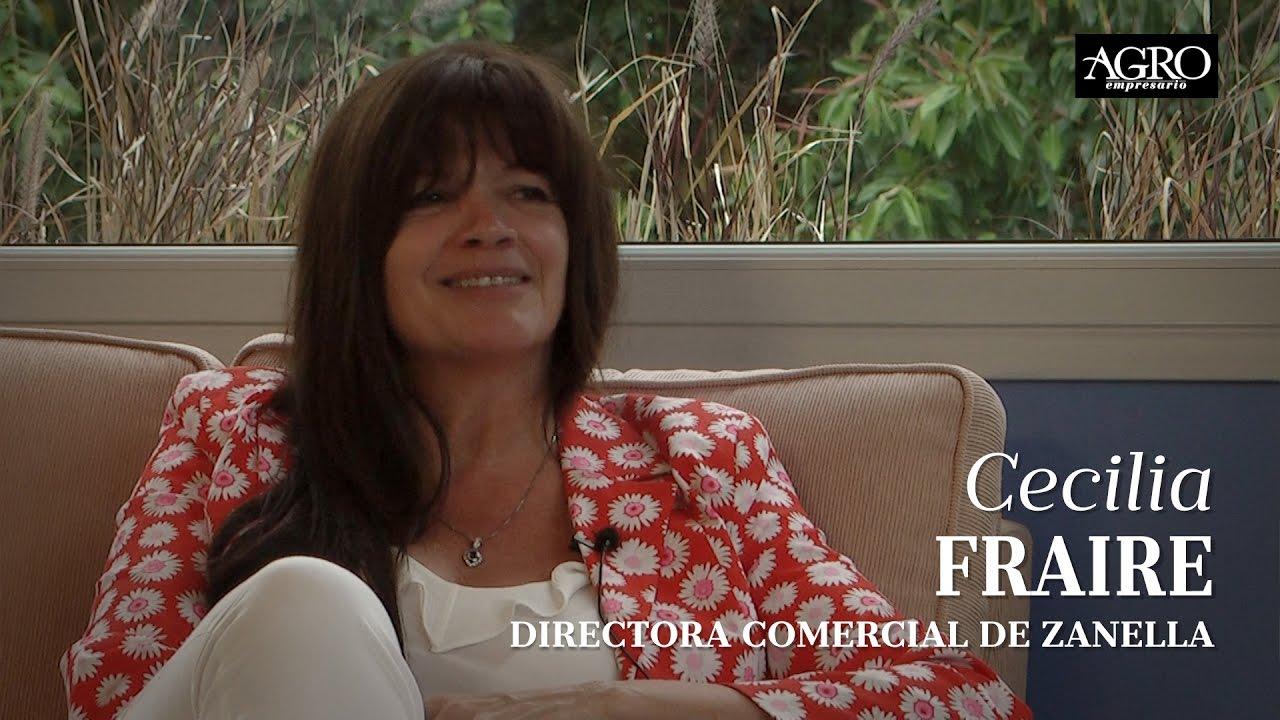 Cecilia Fraire - Directora Comercial de Zanella