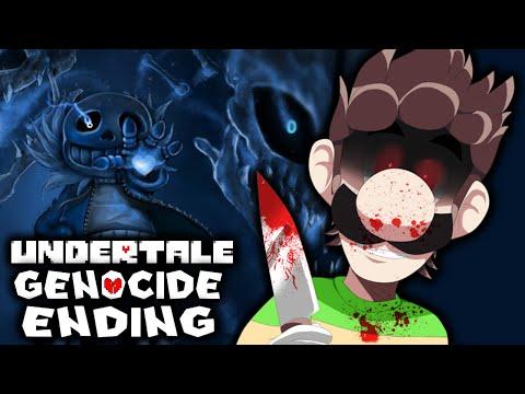 UNDERTALE [GENOCIDE ENDING] - SANS IS HAVING A BAD TIME! | Part 2 of 2 (Bad Ending)