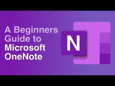 A Beginners Guide to Microsoft OneNote - YouTube