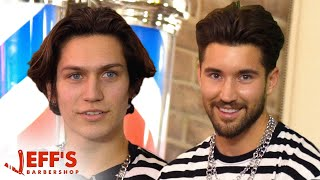 TikTok Star Lil Huddy Confronted During Haircut | Jeff\'s Barbershop