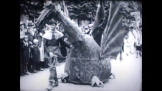 Folkloristisch feest in Oisterwijk, 1933
